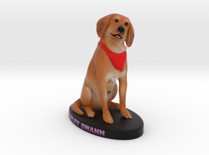 Custom Dog Figurine - Harley 3d printed