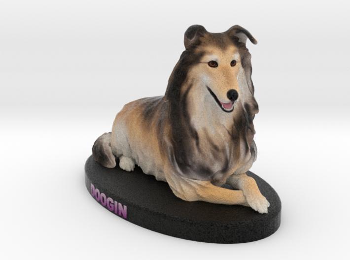 Custom Dog Figurine - Doogin 3d printed