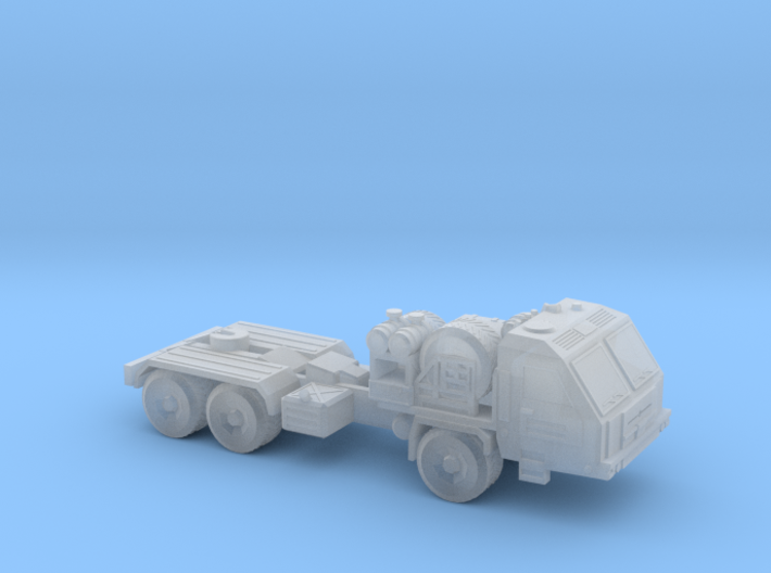 Russian BAZ-64022 Truck 6mm/1:285 3d printed