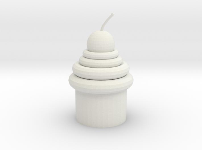 Mirror Cupcake 3d printed