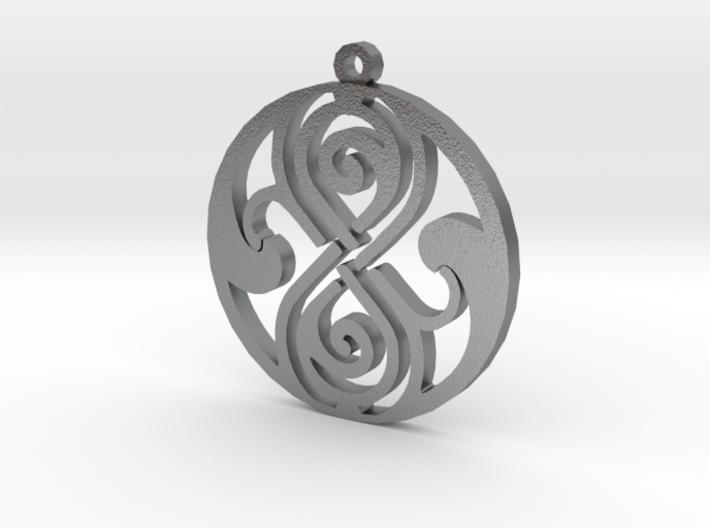 Rassilon - Necklace 3d printed