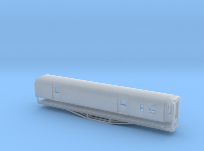 F 56ft Van, New Zealand, (N Scale, 1:160) 3d printed