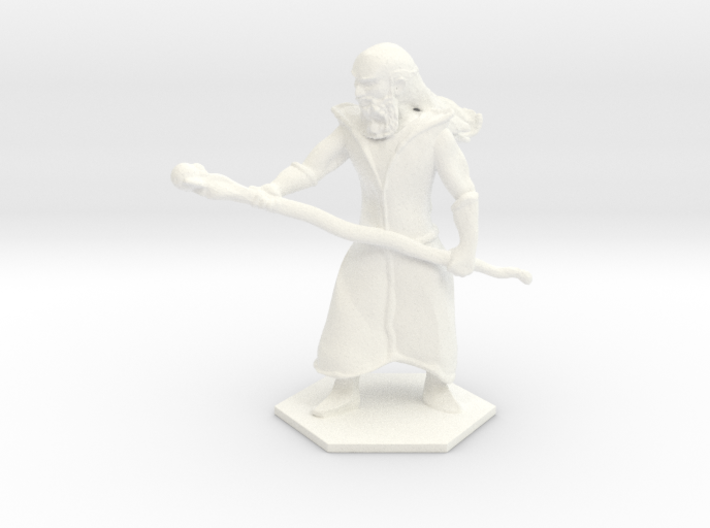 Staff Wizard 3d printed