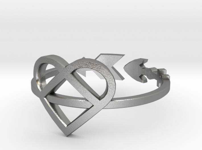 Arrow through the Heart Size 6 3d printed