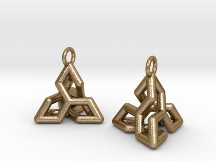 Ear-Rings-04 3d printed