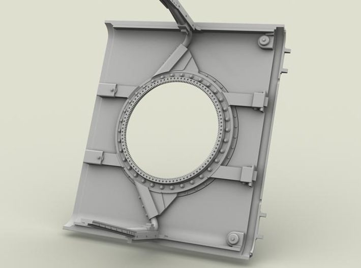 1/35 SPM-35-022 HMMWV roof for turrets 3d printed