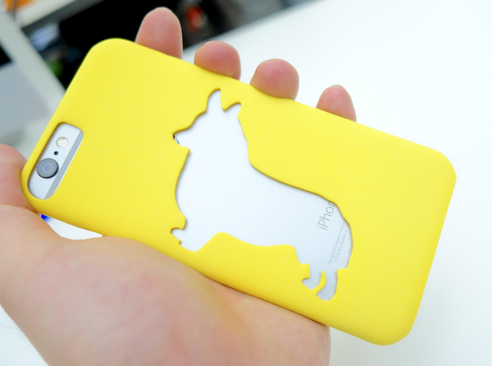 Corgi Iphone 6 Case 3d printed