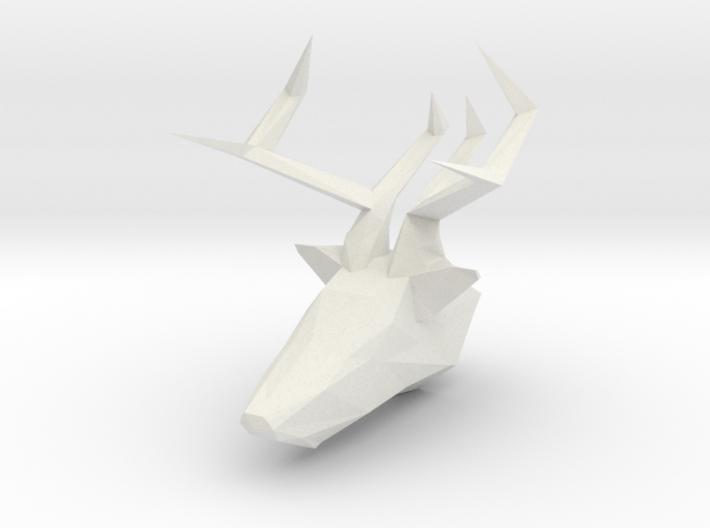 Deer Head Bust 3d printed