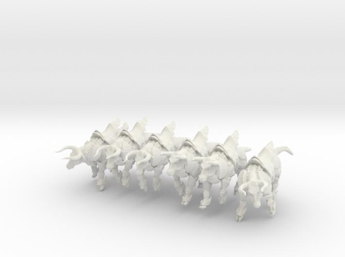 Bronze Bull Rev5 - Pose All 3d printed