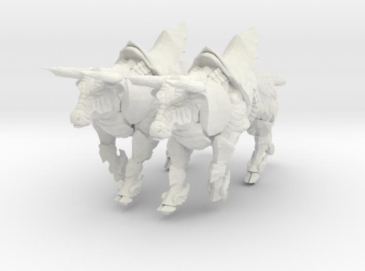Bronze Bull Rev5 - Pose 3 3d printed