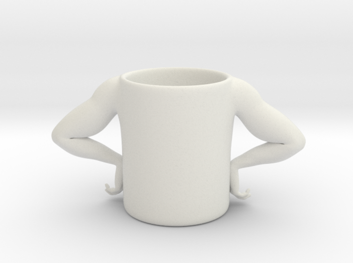 Strong Man Cup 3d printed