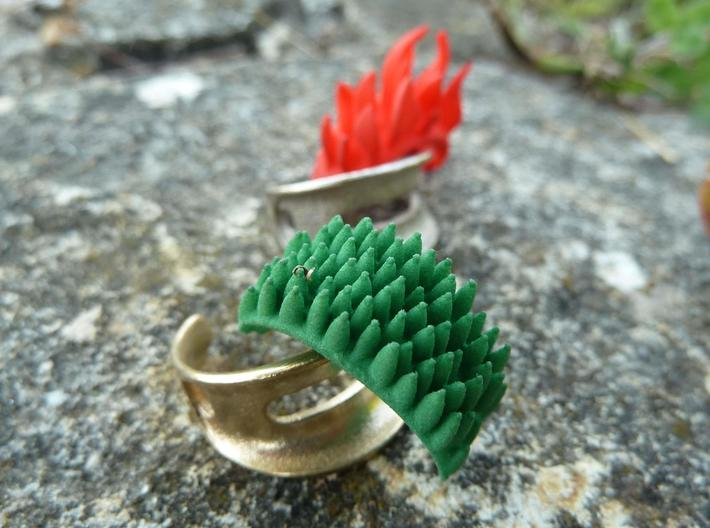 Grass Element (clips onto Swap-ring) 3d printed