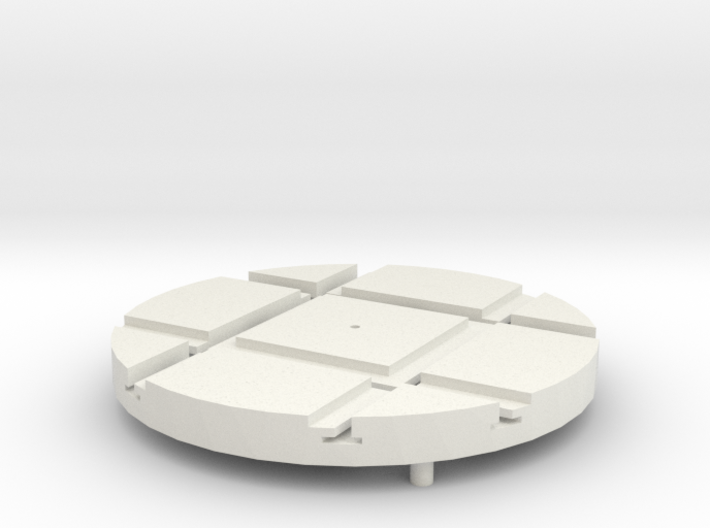 T-21-wagon-turntable-48d-100-1a 3d printed