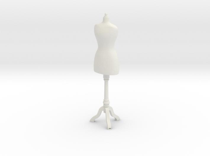 1:24 Dress Form 3d printed