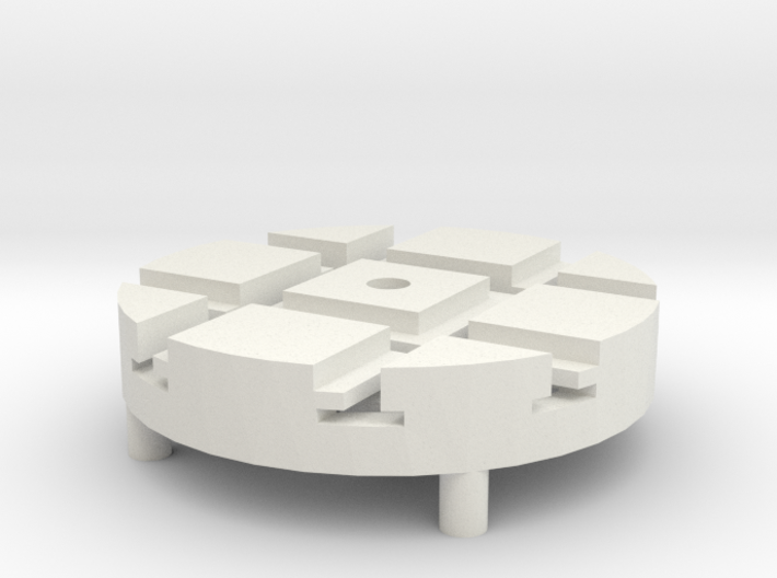 T-9-wagon-turntable-24d-100-1a 3d printed
