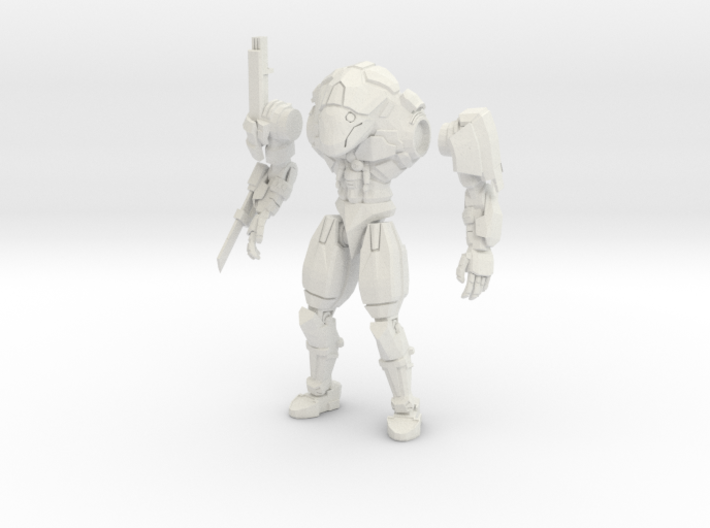 15mm scale mech - Rapier 3d printed