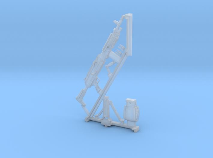 1/16 SPM-16-003 m240L 7.62mm machine gun 3d printed