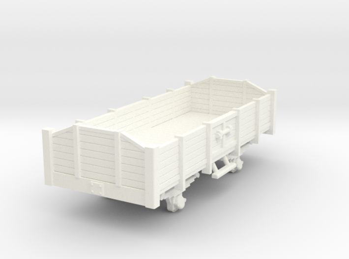 Carro aperto - open wagon H0m 3d printed Open wagon scale 1/87 gauge H0m