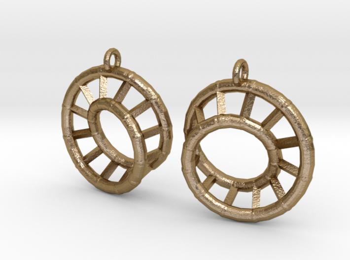 Ear-Rings-03 3d printed