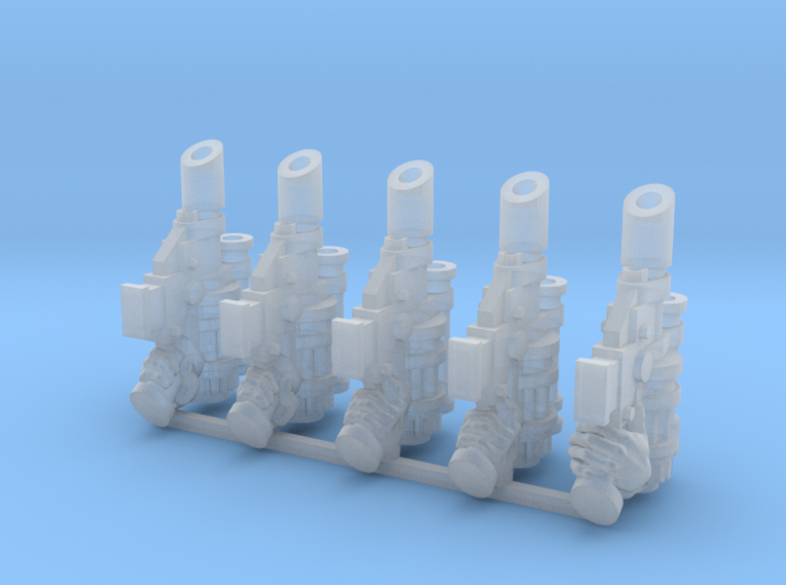 Syringe Pistol Weapons Pack 3d printed