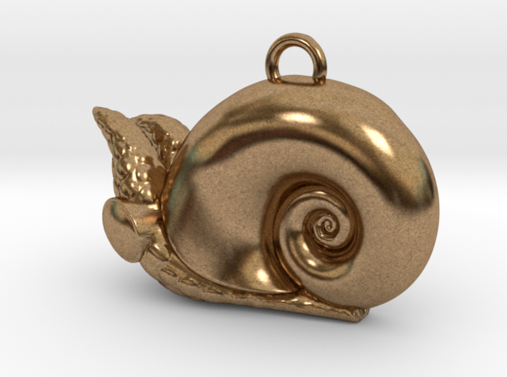 New Zealand Powliphanta charm 3d printed