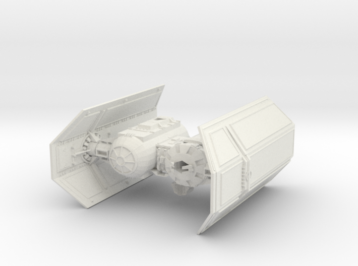 Tie Bomber 3d printed