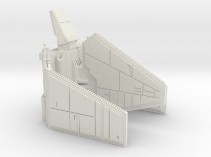 Imperial Shuttle Small 3d printed