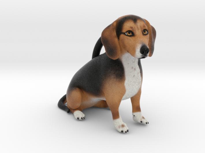 Custom Dog Ornament - MaggieMae 3d printed