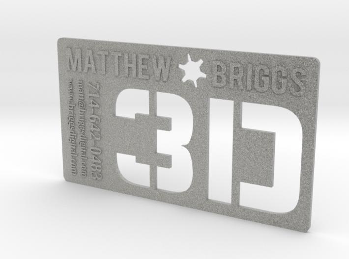 3D Executive Business Card 3d printed