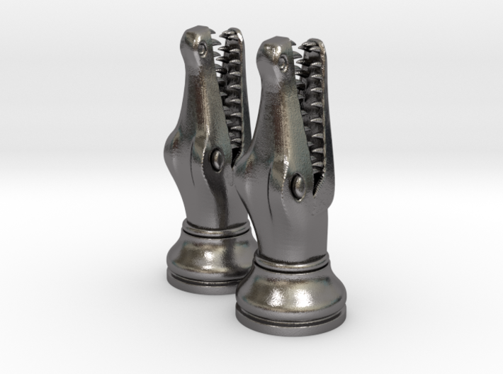 Pair Chess Crocodile Big / Timur Luxm Sea-Monster 3d printed