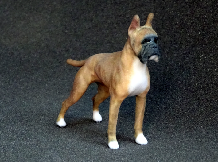 Red Fawn Boxer 3d printed