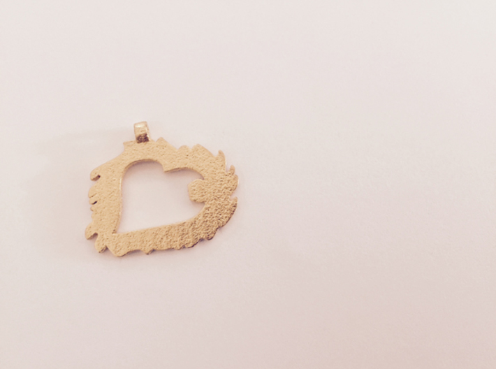 Love is Grand and Messy No. 2 Pendant 3d printed