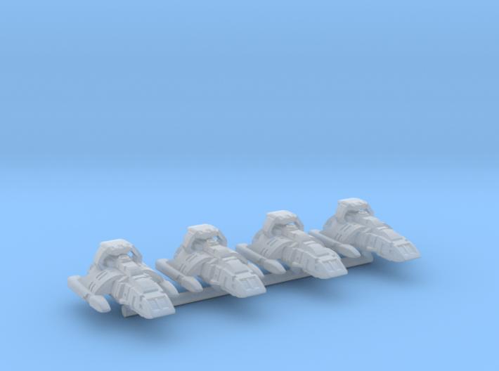System Fleet Scamper Runners 3d printed