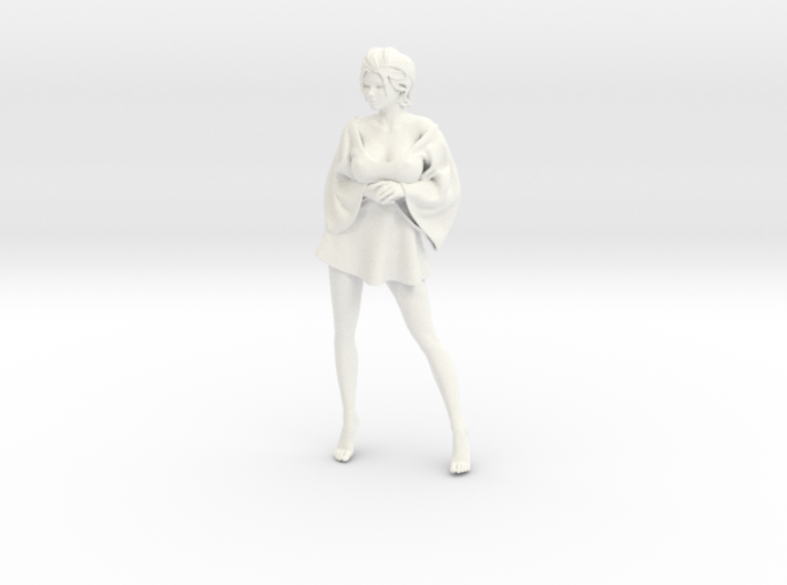 Skirt Girl-006 scale 1/10 3d printed