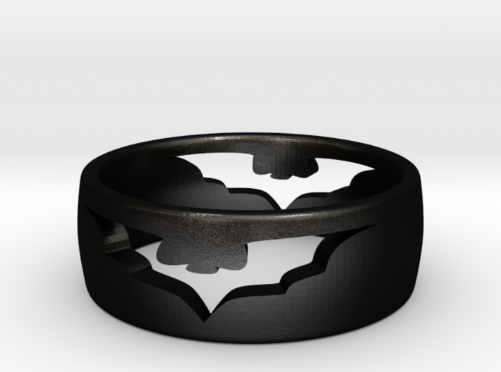 (Size 6) Bat Ring 3d printed