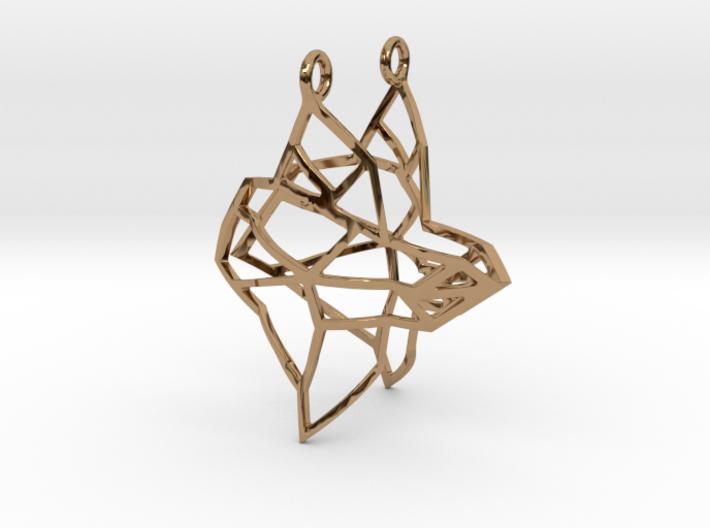 FabGeo Earrings 3d printed
