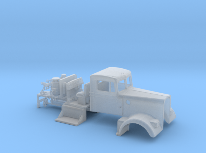 1/50th Interpretation of Kenworth W900 A Model 3d printed