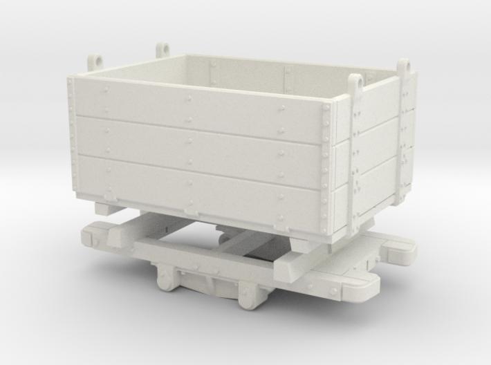 Gn15 Sand Hutton Wagon 3p 1:24 3d printed