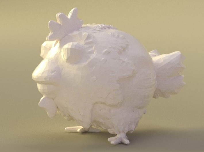 chicken toy 3d printed