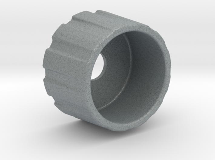 Button Guard - Knitter Button - 6mm Shaft 3d printed
