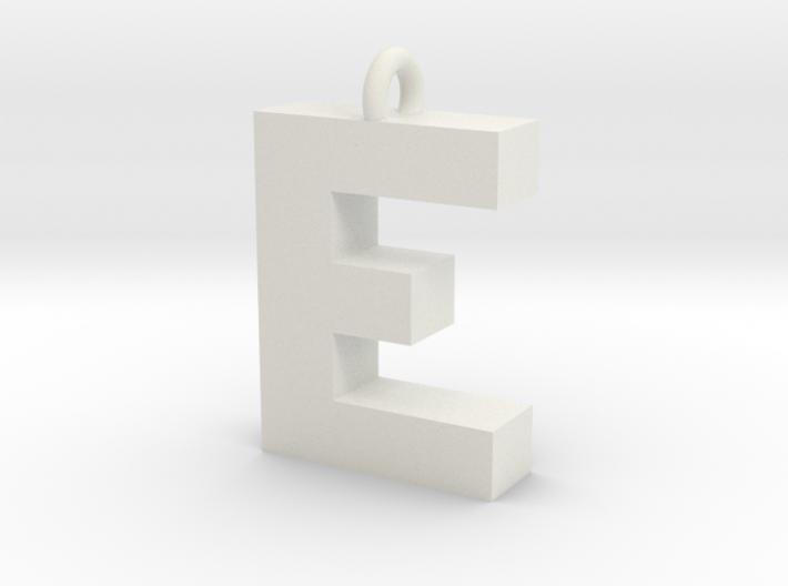 Alphabet (E) 3d printed Collection: Alphabet