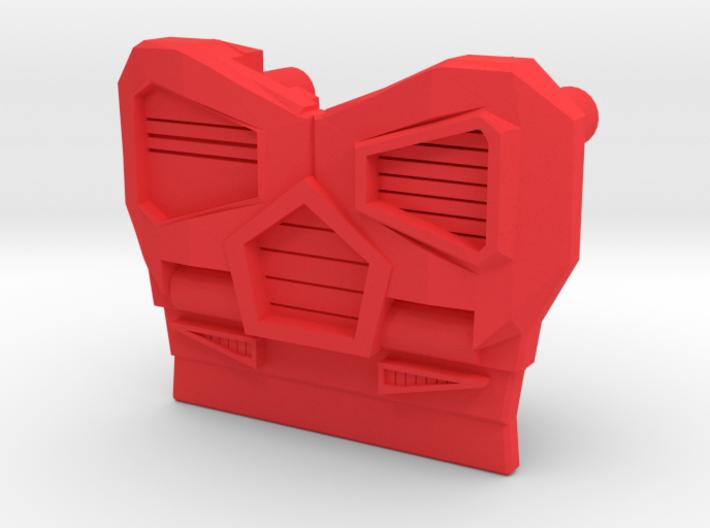 Medical Sportscar Femmebot Chest 3d printed