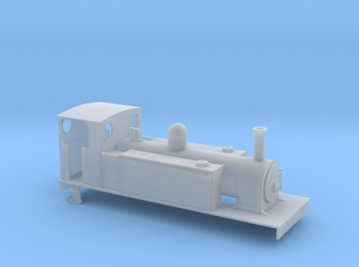 TTn3 CDJR 4-6-0T 3d printed