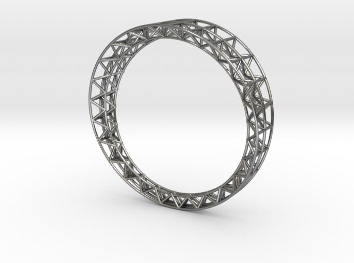 Intricate Framework Bracelet 3d printed