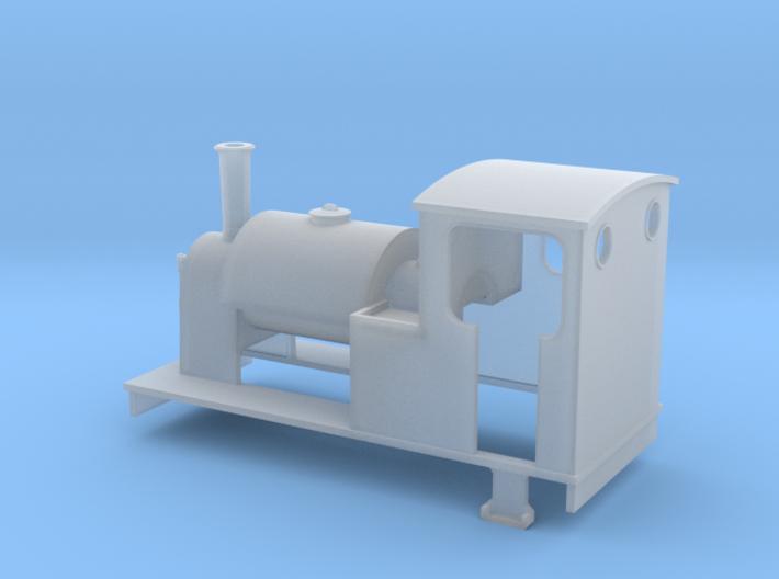 TTn3 saddle tank loco 3d printed