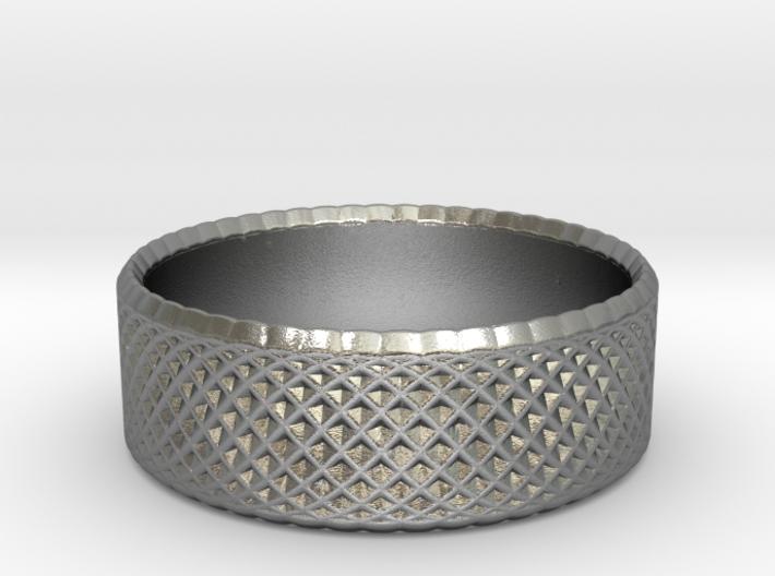 0198 Lissajous Figure Ring (Size2, 13.2mm) #009 3d printed