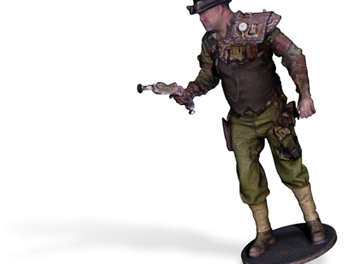 RJ Foster As Steampunk Gunslinger 3d printed