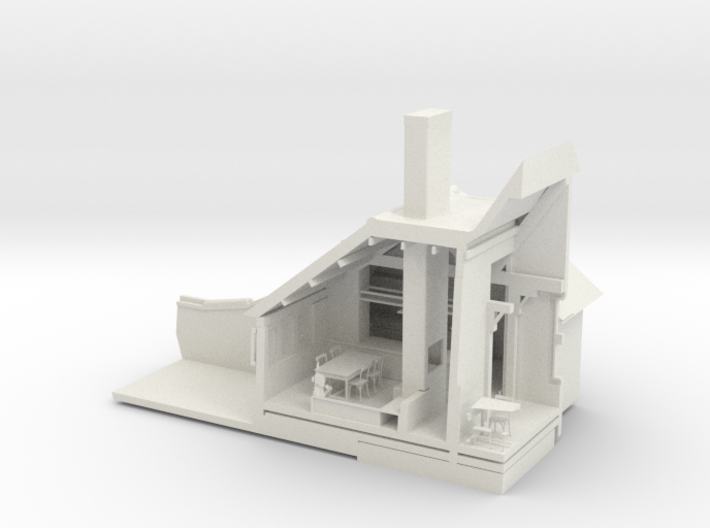 Interior Sector SMALL 3d printed