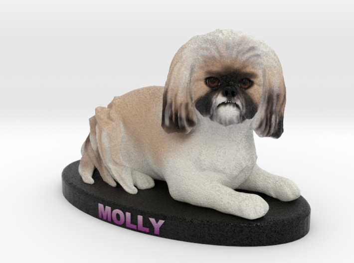 Custom Dog Figurine - Molly 3d printed