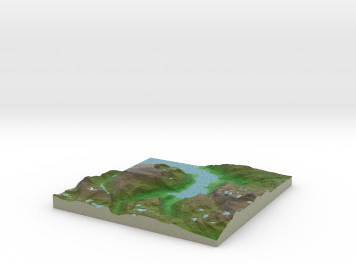 Terrafab generated model Fri Jun 12 2015 16:42:24 3d printed